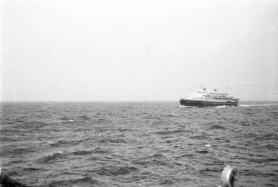 Statek pasażerski na morzu
