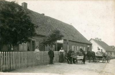 Restauracja Augustyna Skwiercza przy obecnej ul. Starowiejskiej