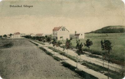 Ulica Kuracyjna (obecnie 10 Lutego) – widok w stronę morza