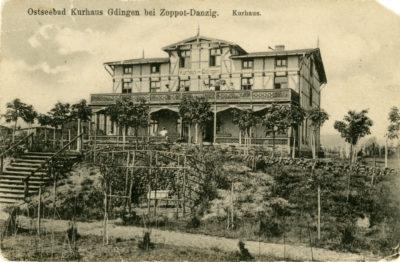 Kurhaus w Gdyni – widok od strony morza