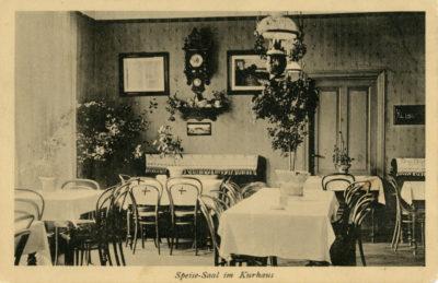 Sala restauracyjna Kurhausu w Gdyni
