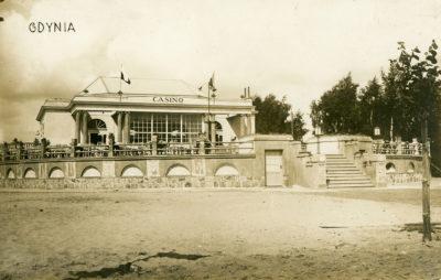 Restauracja Casino na obecnym skwerze Kościuszki