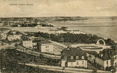 Widok Gdyni z Kamiennej Góry