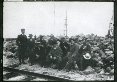 Inspekcja na budowie portu