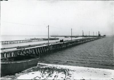 Port w grudniu 1921 roku