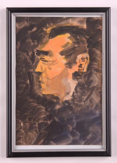 Autoportret'1958